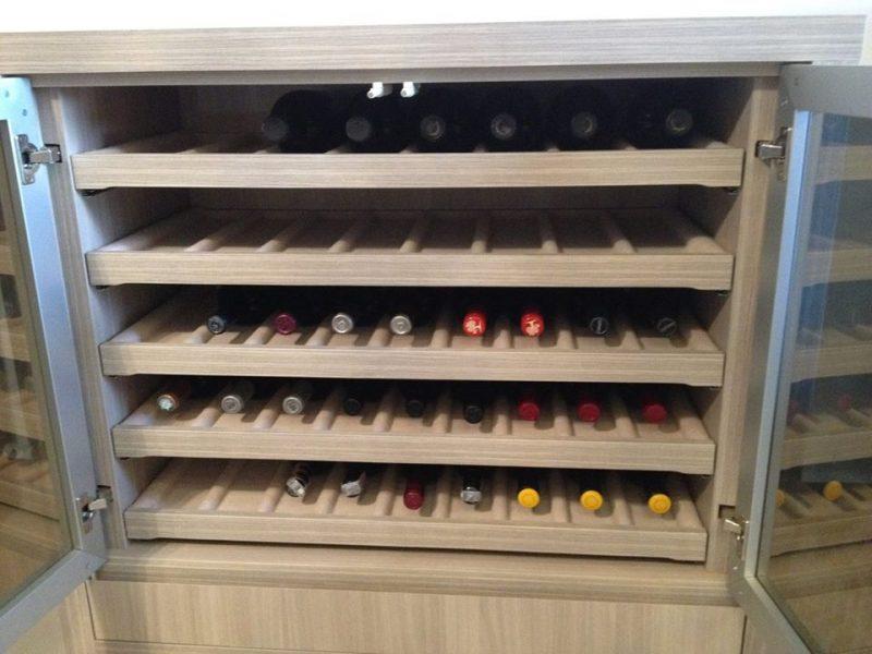 adega de vinho planejada